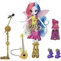 "Ексклюзивна серія My Little Pony Equestria Girls ""Through The Mirror"" (""Задзеркаллі"") Лялька Принцеса Селестія, фото 1"