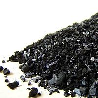 Натуральный черный пищевой краситель растительный уголь