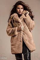 Модная женская шуба Gepur 24288