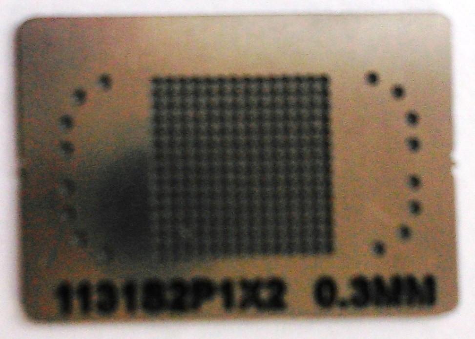 BGA трафарет 1131S2P1X2 0,3 mm
