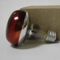 Лампа рефлекторная инфракрасная 175 Вт R-80 Е-27 красная 175Вт