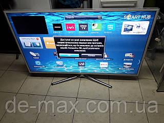 Телевизор белый 50 дюймов Samsung UE50ES6710 Smart TV, 3D, LED, Wi-Fi ,400Гц