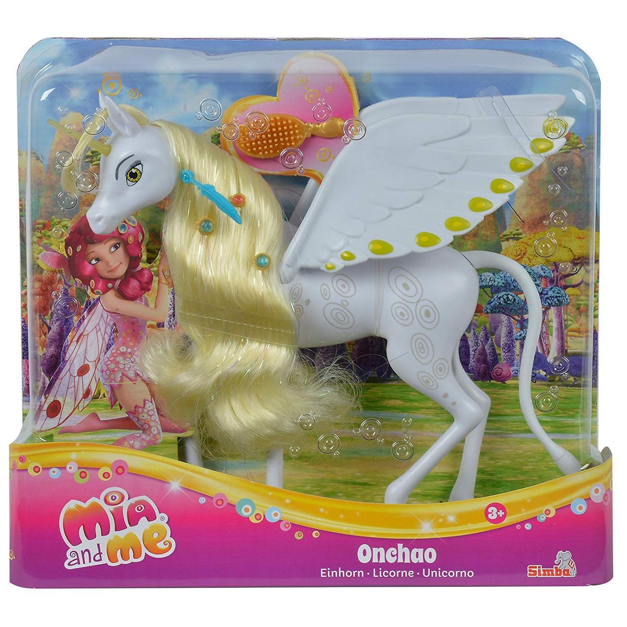"""Единорог Ончао  из м/ф """"Мия и Я"""" ( Mia and Me Onchao Simba Toys)"""