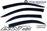 Ветровики Kia Rio III Sedan 2010 (ANV air)
