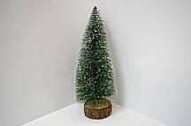 Елка 905-31 (043) сосновая на дерев подст. зел с белой присып пена 31х11см