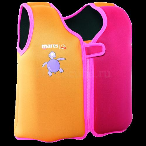 Детский жилет для плавания XS 2-4 года (розовый)