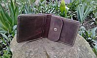 Кожаный кошелёк коричневого цвета, фото 3