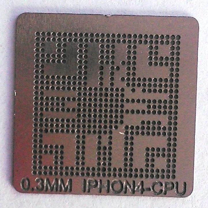 BGA трафарет IPHON4-CPU 0,3 mm