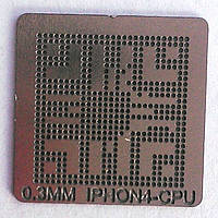 BGA трафарет IPHON4-CPU 0,3 mm