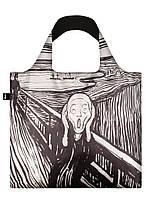 Сумка для пляжа и покупок EDVARD MUNCH The Scream 1895 LOQI, фото 1