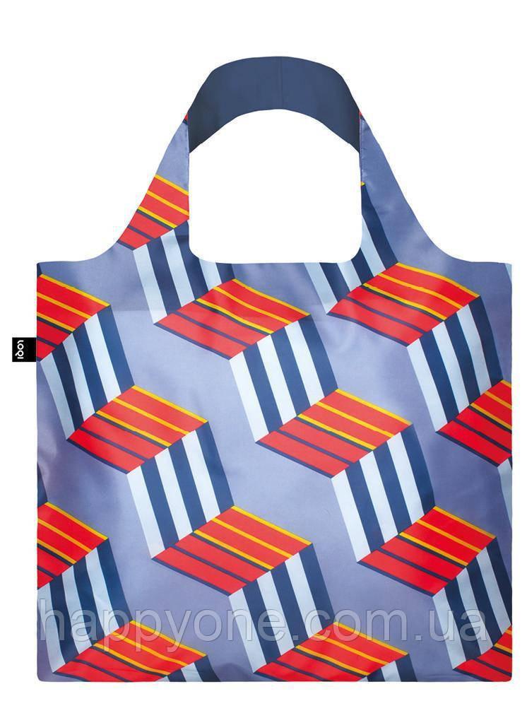 Сумка для пляжа и покупок GEOMETRIC Cubes LOQI