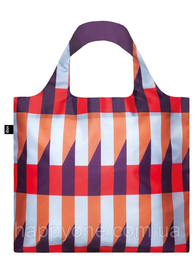 Сумка для пляжа и покупок GEOMETRIC Stripes LOQI