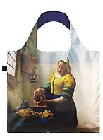 Сумка для пляжа и покупок VERMEER The Milkmaid 1658-60 with IRMA BOOM LOQI, фото 1