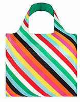 Сумка для пляжа и покупок POP Stripes LOQI, фото 1