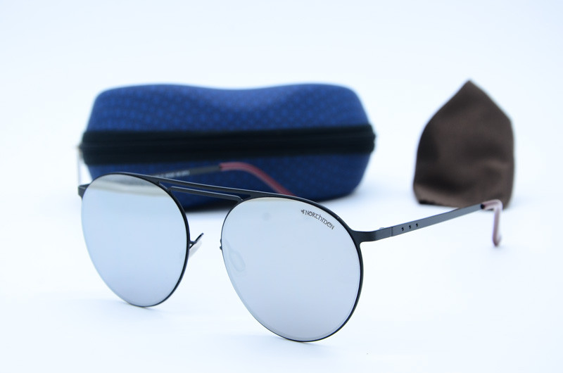 Солнцезащитные круглые мужские очки Northmen 1003 с1