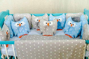 Детский постельный комплект Сова 00125