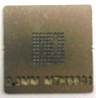 BGA трафарет 0,3 mm MTK6601