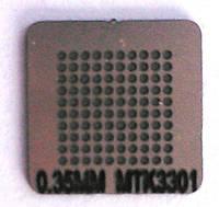 BGA трафарет 0,35 mm MTK3301