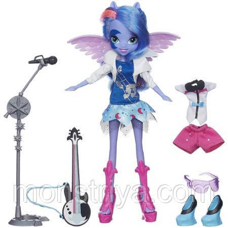 "Эксклюзивная серия My Little Pony Equestria Girls ""Through The Mirror"" (""Зазеркалье"") Кукла Принцесса Луна Vic"