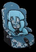"""Детское автомобильное кресло SIGER """"ПРАЙМ Изофикс"""" синий,  1-12 ЛЕТ, 9-36 КГ, группа 1/2/3"""