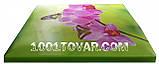 """Комод пластиковый, с рисунком """"Бабочка и орхидея"""" + рисунок на крышке, на 4 ящика, под заказ, фото 5"""