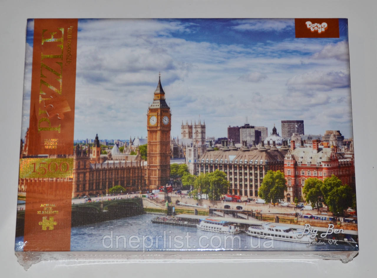 Пазл 1500 элементов / Big Ben (Лондон)