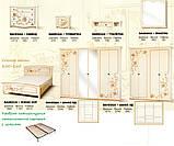 Шкаф 6Д Ванесса  (Світ меблів) 2762х640х2240мм, фото 3