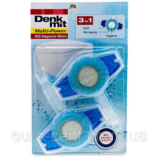 Освежитель воды в унитазе Denkmit Multi-Power WC-Hygiene-Stein в ассортименте