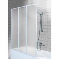 Шторка для ванны Aquaform Standard 3 профиль белый полистирол