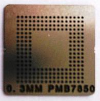 BGA трафарет 0,3mm PMB7850