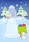 Малюнки з наліпок. Дід Мороз., фото 4