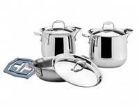 Vinzer 89027 Набор посуды Tulip Высококачественная нержавеющая сталь FERRINOX ® 18/10