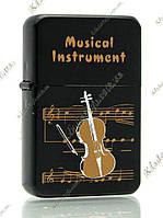 Зажигалка бензиновая Musical Instrument «Violin»