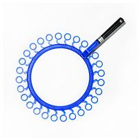 Ракетка СОЛНЫШКО для мыльных пузырей «BBL» 32 см