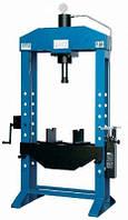 Пресс напольный гидравлический OMA 658 В с ручным приводом 50 т