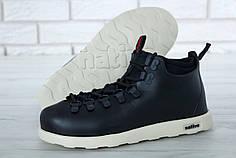 Ботинки зимние Native Fitzsimmons Black. ТОП Реплика ААА класса.
