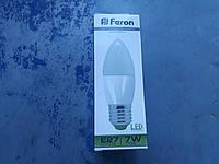 Светодиодная Лампа свеча FERON LB-97 7W E27 4000k