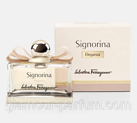 Женский парфюм Salvatore Ferragamo Signorina Eleganza ( Сальвадор Феррагамо Синьерина Элеганза)