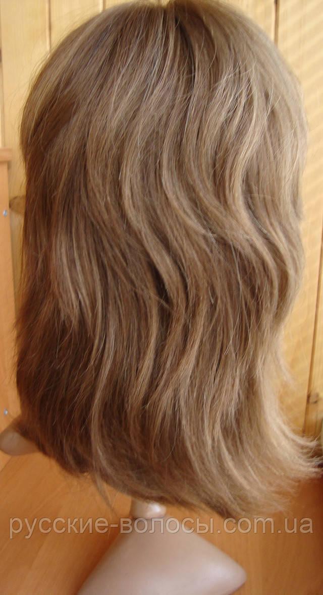 Натуральный парик - тресовая основа.