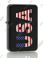 Зажигалка бензиновая «U.S.A» (color)
