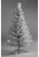 Искусственная  елка серебряного цвета (серебро) 1м