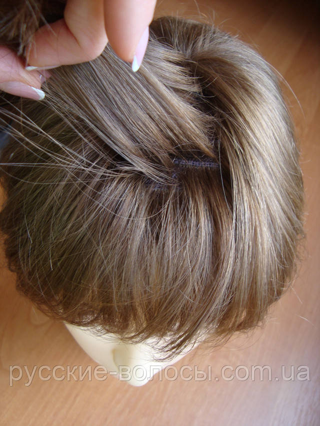 Натуральный парик - челка трес.