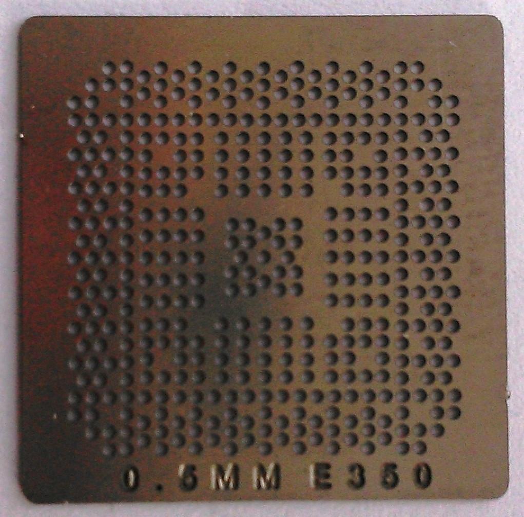 BGA трафарет 0,5 mm E350