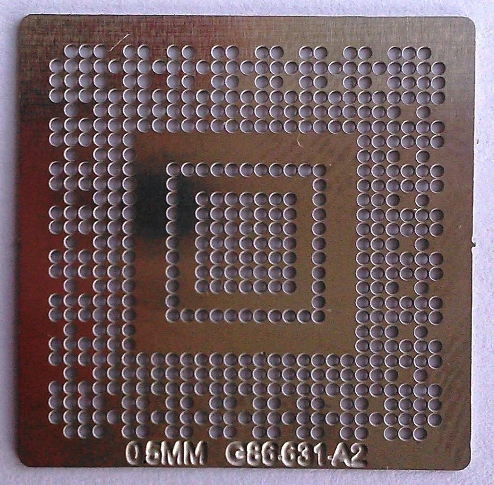BGA трафарет 0,5 mm G86-631-A2