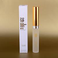 Женский мини парфюм Carolina Herrera 212 VIP 25 ml (в квадратной коробке) ALK