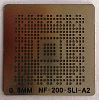 BGA трафарет 0,5 mm NF-200-SLI-A2