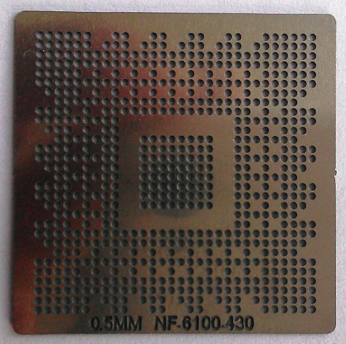 BGA трафарет 0,5 mm NF-6100-430