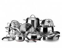 Vinzer 89036 Набор посуды GRAND MAJESTIC NEW пищевая сталь FERRINOX®, из которой изготовлена посуда Vinze