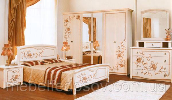 Спальня 6Д Ванесса  (Світ меблів)