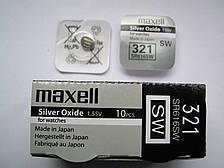 Батарейки MAXELL 321